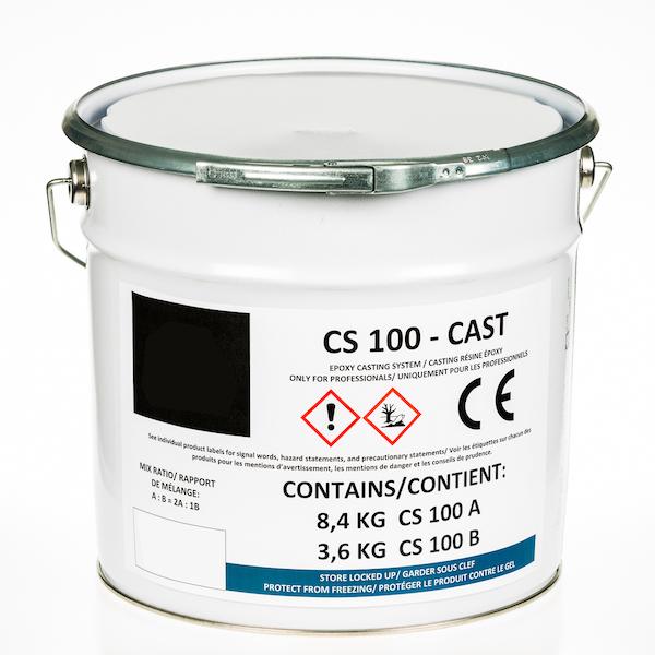 Effacer moulage résine époxy CS 100 – CAST