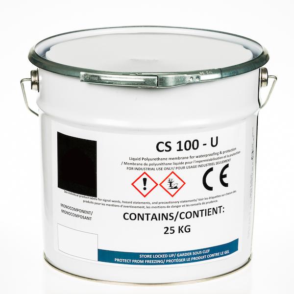 Membrane de polyuréthane liquide pour l'étanchéité et la protection CS 100 U