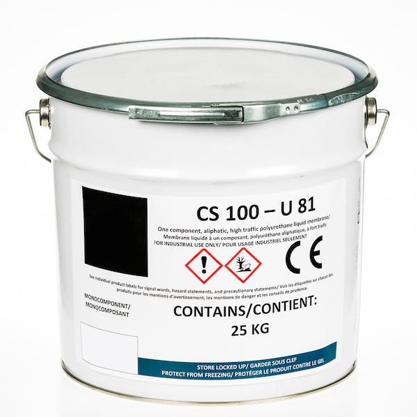 Membrane liquide de polyuréthane de la circulation CS 100 U81